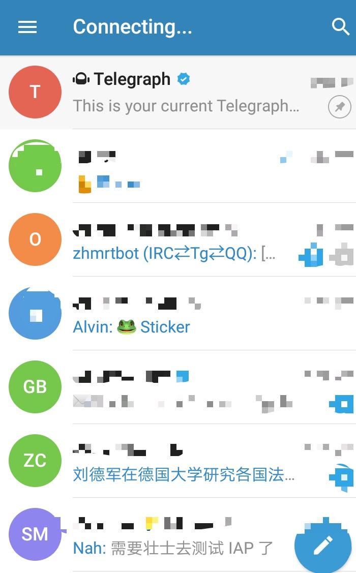 有关 Telegram(电报) 的一些知识